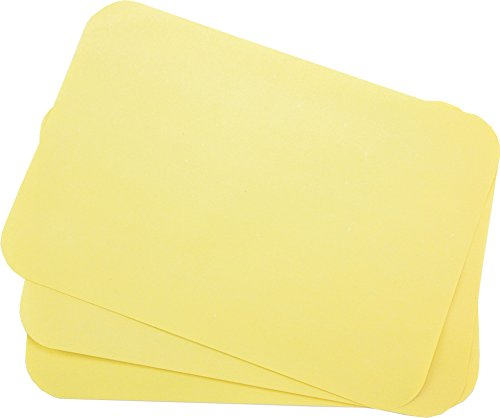 Primo Dental Products TCBYE Tray Cover Ritter, 8.5'' x 12.25'',''B'' Yellow (Pack of 1000)