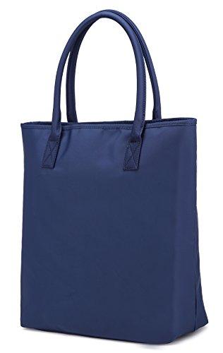 L.Sense Waterproof Nylon Tote Shoulder Handbag (Blue)