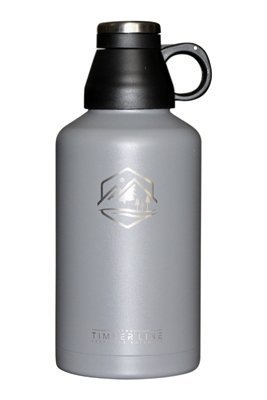 Stainless Water Bottle Collection (64 oz Insulated Water Bottle and Growler, Vacuum Insulated Stainless Steel, BPA Free Double Walled Travel and Sports Half-Gallon Jug, Wide Mouth and Leak Proof Cap, Great for Coffee or Beer)
