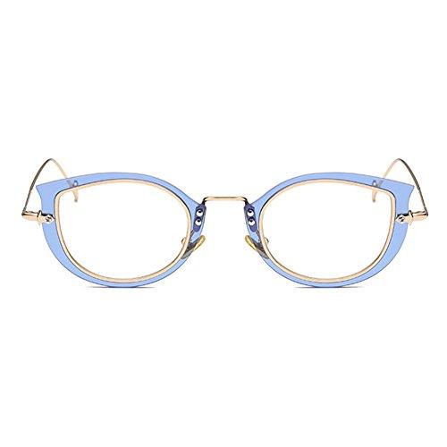 Hommes Femmes Cat Eye Lunettes - Transparents Lunettes Cadre - Mode Lunettes - hibote # 122902 sjyeTQEHO5