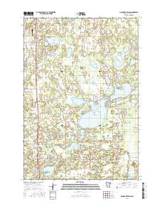 Coon Lake Beach, Minnesota topo map by East View Geospatial, 1:24:000, 7.5 x 7.5 Minutes, US Topo, 22.8