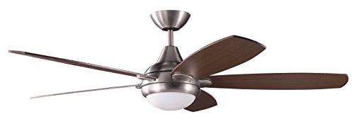 kendal-lighting-ac14652-sn-espirit-52-inch-5-blade-1-light-ceiling-fan-satin-nickel-finish-and-rever
