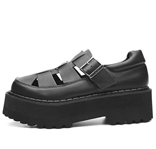 d'automne Comfort Street Onecolor Occasionnels Boucles Découpe Shooting Femme Chaussures 35EU Oxfords Chaussures DANDANJIE Iptq66