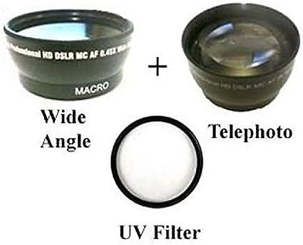 Telephoto Lens Canon HF G25 Wide Lens Canon HFS10 Canon HF G30 Canon HFG30 UV for Canon HF G20