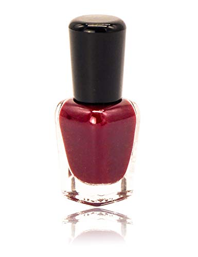 conisy Water-Based Non-Toxic Peel-Off Nail Polish for Lady and Girl (Cherry red)