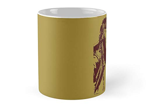 Land Rus Kelly's Heroes - Oddball Says (umber & gold) Mug - 11oz Mug - Features wraparound prints - Made from Ceramic - Best gift for family friends