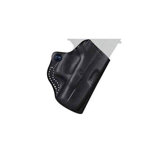 DeSantis Mini Scabbard Belt Holster for Ruger LC9, Crimson Trace LG-412 Laser, Leather, 019BAX6Z0