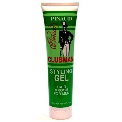 Clubman Styling Gel Tube 3.75 Ounce For Men (111ml) (3 - 3.75 Tube Ounce