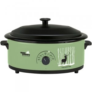 Open Country 6 Qt. Roaster Oven With Elk Woods (Pork Roaster Ovens)