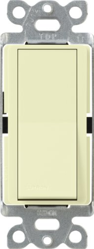 Lutron Claro CA-1PS-ALAlmond15 Amp Single Pole Eletrical