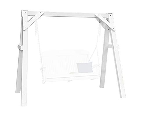LuxCraft A-Frame Vinyl Swing Stand