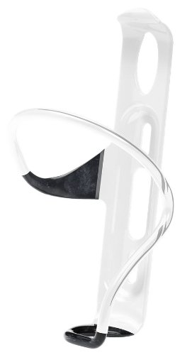 RavX Side One Split Carbon Water Bottle Cage (White)