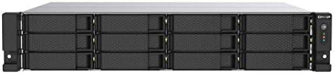 QNAP TS-1253DU-RP 12 Bay Rackmount NAS with Two 2.5GbE Ports, Redundant PSU