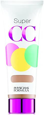 Physicians Formula Super CC Color-Correction + Care CC Cream, Light/Medium 1.2 Ounces, SPF 30