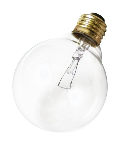 Satco Products S3447 120V 25G25 Medium Base Clear Light Bulb