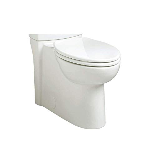 American Standard 3075.000.020 Cadet3 Concealed Trap Right Height Elongated Bowl, White