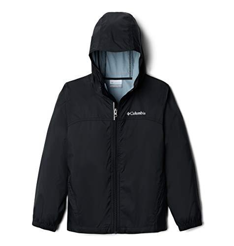 Columbia Big Boys' Glennaker Rain Jacket, Black, X-Large