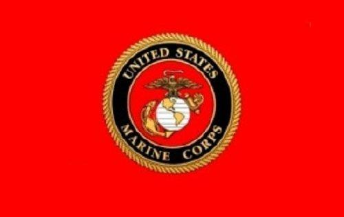 Amazon.com   U.S. Marine Corps Emblem 3x5 Polyester Military Flag   Outdoor  Flags   Garden   Outdoor ce74627f4