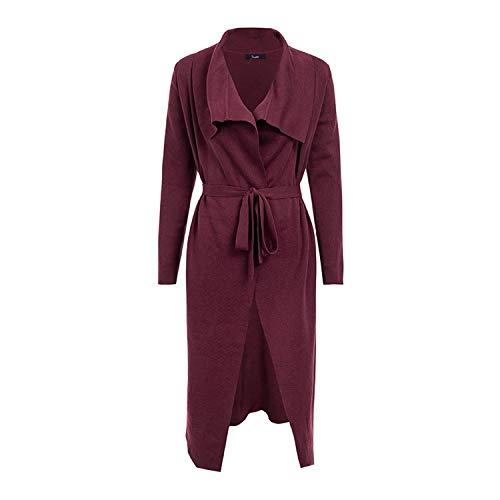 Fashion Consciousness Women Dress Elegant Women Cardigan Long Sweater Jumper Knitted Cardigan Thick Casual Coat ()