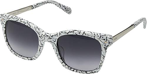 - Fossil Women's Lyndhurt Rectangle Sunglasses - FOS2086 Black Marble One Size