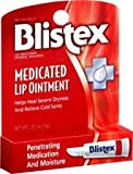 Blistex Medicated Lip Ointment for Dryness and Cold Sores, 0.21oz - PACK OF 2