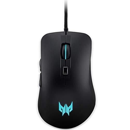 Acer Predator Cestus 310 Gaming Mouse: 4200 On-The-Fly DPI - Breathing Backlit - 6 Button Design - Pixart 3519 Sensor - Black (PMW910)