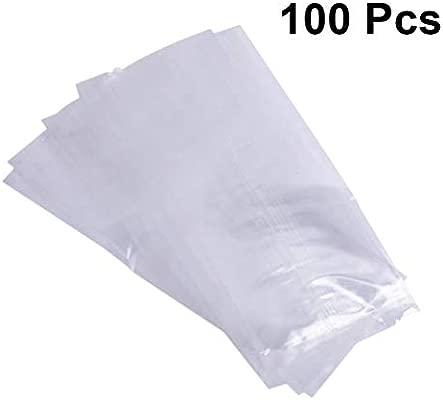 UPKOCH Bolsa de Plástico Transparente de Hielo en el hogar ...