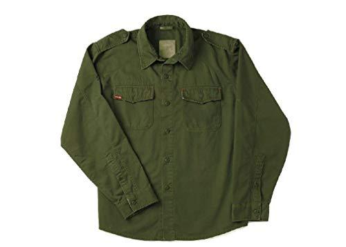 Forces Olive Drab Vintage Fatigue - BlackC Sport Olive Drab Ultra Force Vintage BDU Fatigue Long Sleeve Shirt