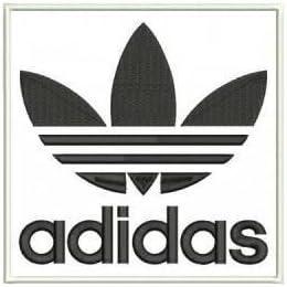 Guardia equilibrado músico  Parche bordado para planchar o coser con el logo de Adidas Trefoil de color  blanco y negro: Amazon.es: Hogar