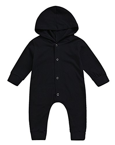 (KONIGHT Newborn Outfits Toddler Infant Baby Girls Boys Cotton Hoodie Romper Pajamas Clothes (18-24Months,)