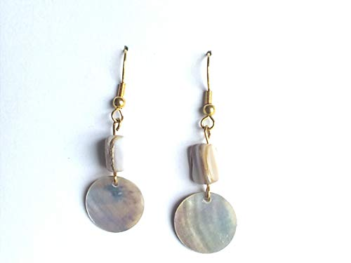 Recyle Teasures Boutique Simple Delicate Beaded Earrings for Women /& Teen Girls