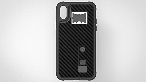 finest selection 0301c cc3fd Amazon.com: iPhone X Case, Multi-Functional Hybrid Built-in ...