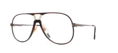 Ferrari 30 968 Red and Black Authentic Men Vintage Eyeglasses - Ferrari Frames Eyeglass