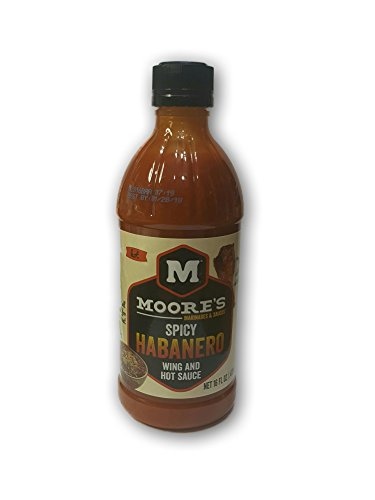 NEW Moores Spicy Habanero Wing & Hot Sauce 16oz