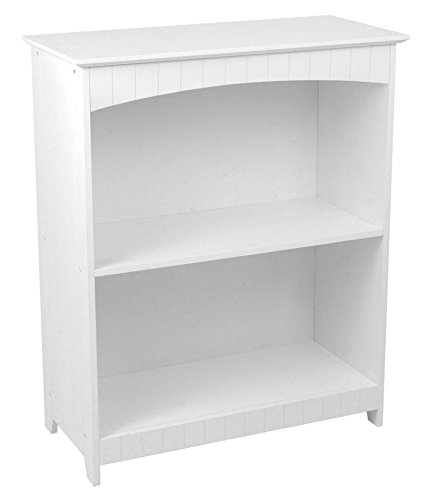 (Kidkraft Nantucket 2-shelf Bookcase - White )