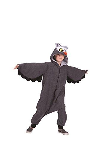 [Oxford Owl Child Funsie Costume] (Oxford Owl Funsie Costumes)