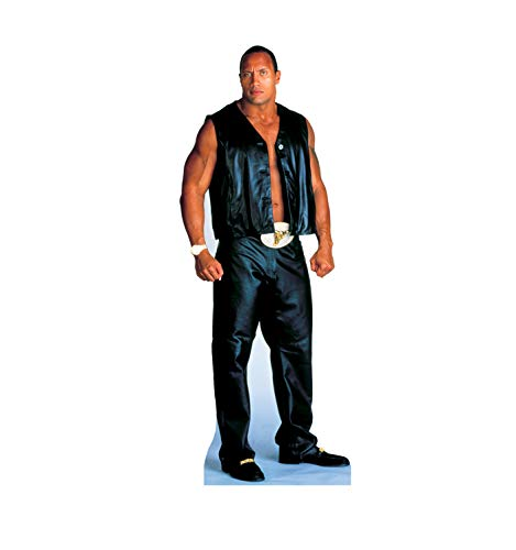Advanced Graphics The Rock Life Size Cardboard Cutout Standup - WWE