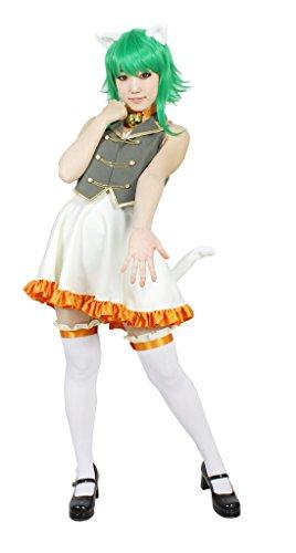 [MILICA BOOKS Vocaloid Gumi Aa Subarashiki Nyansei Cosplay Costume Size L] (Hottest 12 Year Old Girls)