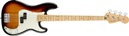 Fender Player Precision Electric Bass Guitar - Maple Fingerboard - 3 Color Sunburst Bass Guitar 3 Color Sunburst