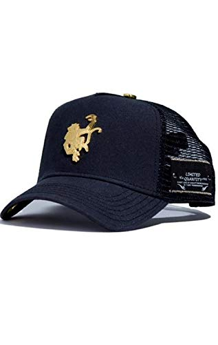 Red Monkey Gold Monkey Black Fashion Trucker Hat Cap