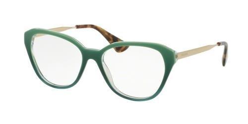Eyeglasses Prada PR 28SV UFU1O1 GREEN GRADIENT