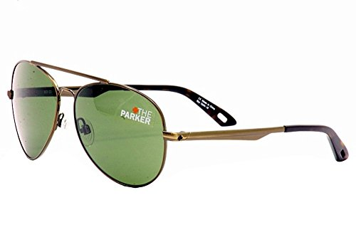 Spy Optic Parker 672051017133 Aviator Sunglasses,Antique Gol
