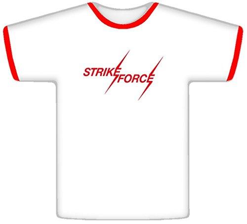 (Strike Force Tito Santana Retro Wrestling T Shirt 2XL Red Ringer)