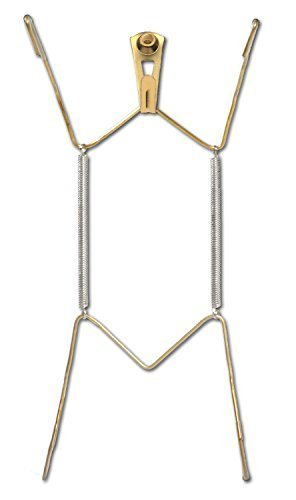 OOK 50471 Deluxe Plate Hanger with Steel Pro Supports Up to 30 Pounds, 7-Inch to 10-Inch (2)