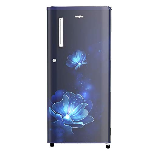 Whirlpool 190 L 4 Star Inverter Direct-Cool Single Door Refrigerator (WDE 205 PRM 4S INV, Sapphire Radiance, Inverter…