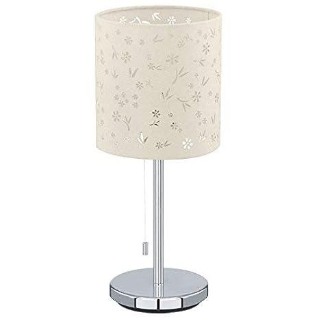 Eglo 91395 Modelo Chicco 1 - Lámpara de mesa (pantalla de ...