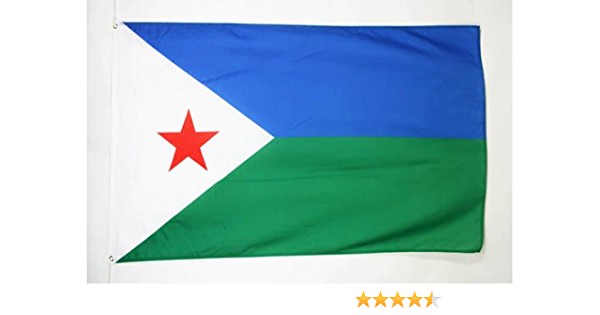 Az Flag Djibouti Flag 2 X 3 Djiboutian Flags 60 X 90 Cm Banner 2x3 Ft Garden Outdoor Amazon Com