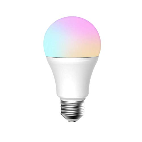 meross Smart Wi-Fi LED Bulb with Color Changing, E26 Dimmable Light Bulb, APP Remote Control, Works with Alexa, Google Home and IFTTT, 700 Lumens 9 W, No Hub Required – MSL120