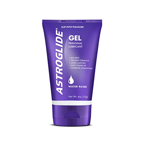 (Astroglide Gel, Water Based Personal Lubricant, 4 oz. )