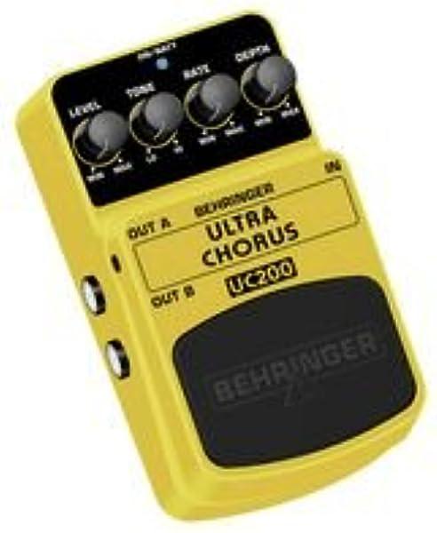 Behringer UC200 4033653052177 - Pedal de efecto chorus para ...